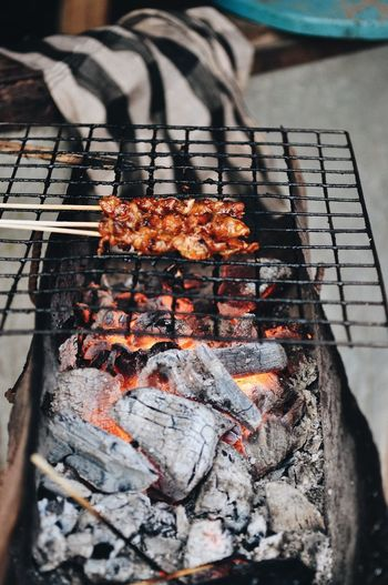 Food Freestyle Road Laos Photography Backpack Travel Destinations Travel Barbecue Heat - Temperature Burning Barbecue Grill Preparation  High Angle View Coal Fire Food Fire - Natural Phenomenon Grilled Food And Drink Close-up Freshness Flame No People Meat Nature Preparing Food Wellbeing