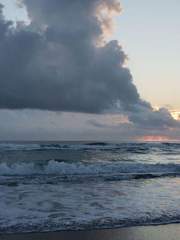 Sunrise Water Wave Sea Beach Motion Social Issues Beauty City Sky Surf Rushing Shore Crashing Coast Low Tide