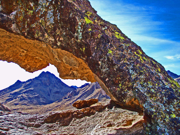Arch Arizona Rock Arch Mohave Mountains Nature
