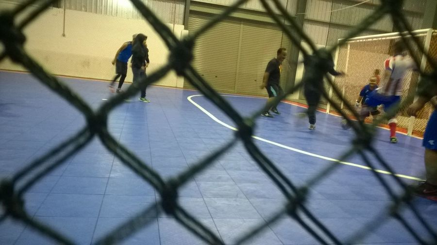 Family event ...futsal for fun Workout#gym#fitness Workout....happy Weekend