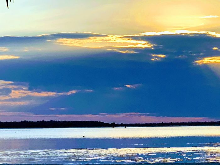 Water Sea Beauty In Nature Scenics - Nature Sky Cloud - Sky Tranquility Tranquil Scene Beach Nature Sunset No People Blue Idyllic Outdoors Non-urban Scene Lagoon Day Land