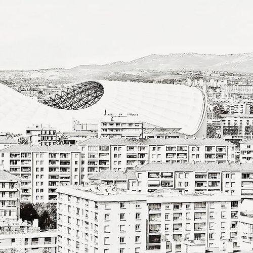 Marseille et son volcan ⚽🏃 Nikonfr NikonD5500 Igersfrance Igersmarseille Marseillerebelle Marseillecartepostale Ohprovence Igm_marseillejetaime Bnw_captures Bnw_society Bnw_life Blackandwhite Bnw_fanatics Bnw_society Bnw_marseille  All_bnwshots Football Velodrome OM Stadevelodrome Marseille Jaimelafrance Topfrancephoto Ig_great_shots
