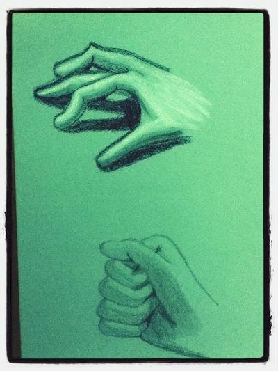 Dessins De Ma Main Droite #art #drawing #hands #crayons ✏