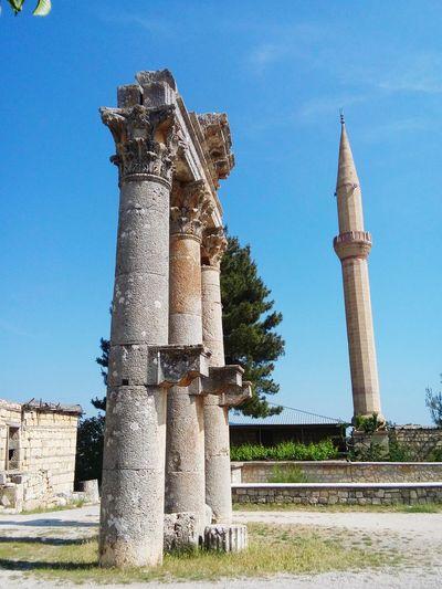 Ancient City Ancient Olba Temple Zeus Mosque ı Love Turkey