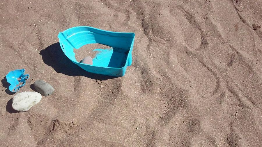 beach Sand Beach Sand Toy Boat Plastic Boat In Sand