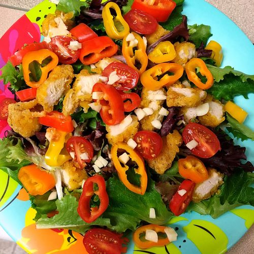 Healthy Tasty Salad Peppers