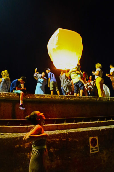43 Golden Moments Sky Lantern Summer Nights Hometown From My Point Of View Thehappynow