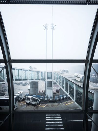 Traveling Home For The Holidays Transportation Architecture Airport Fog Roissy Charles De Gaulle Airport
