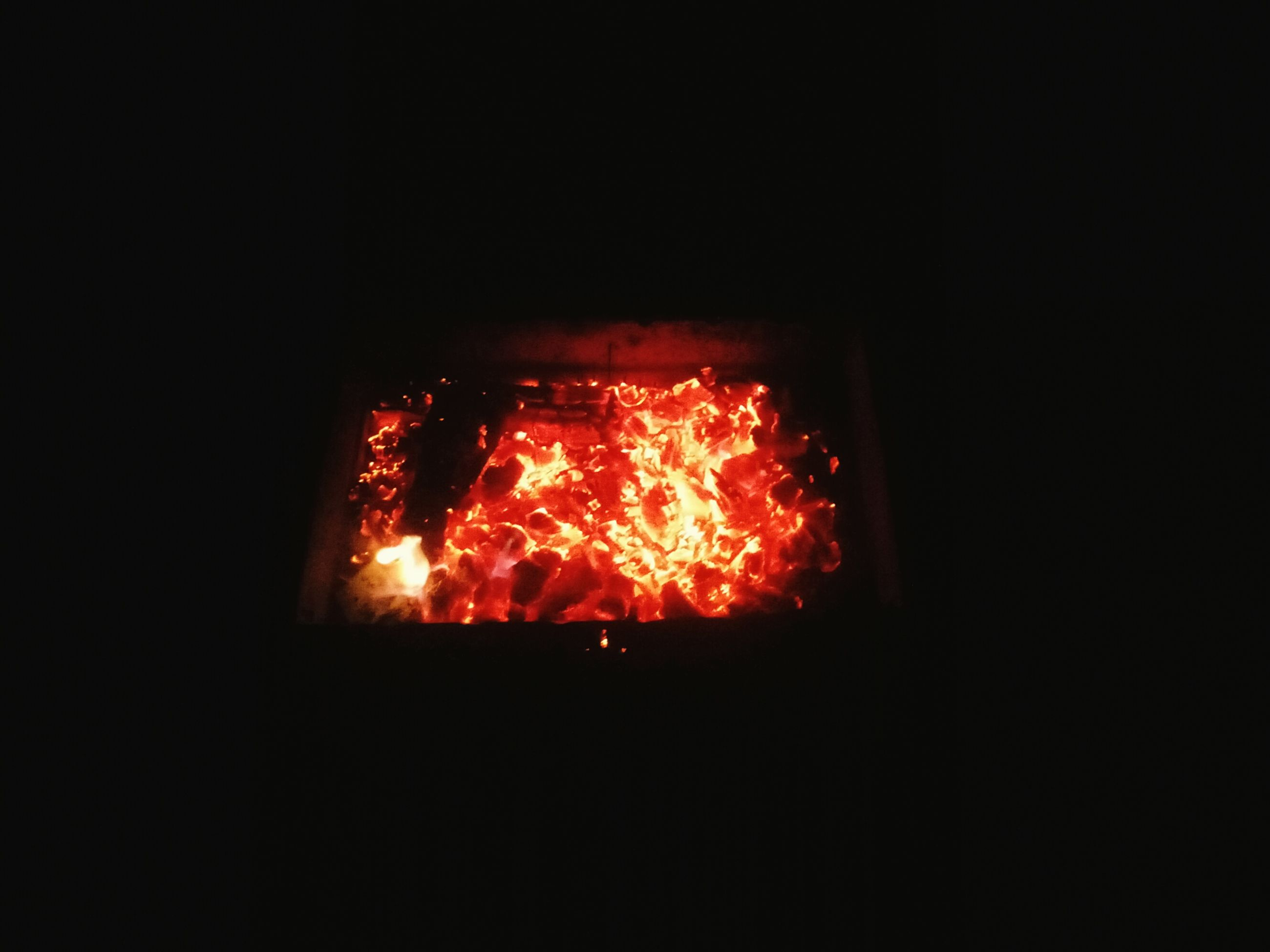 heat - temperature, night, burning, flame, no people, close-up, outdoors
