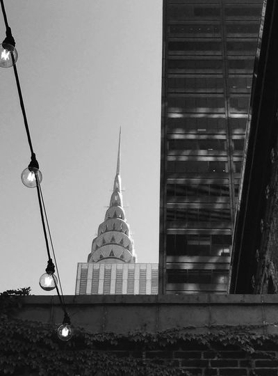 Murray hill urbanscape Architecture Building Exterior Built Structure City Clear Sky Spire  City Life Outdoors Sky Skyscraper Place Of Worship Day Office Building No People Famous Place Tourism Modern Façade Tall Battle Of The Cities TakeoverContrast Monochrome Photography The Architect - 2017 EyeEm Awards The Architect - 2017 EyeEm Awards