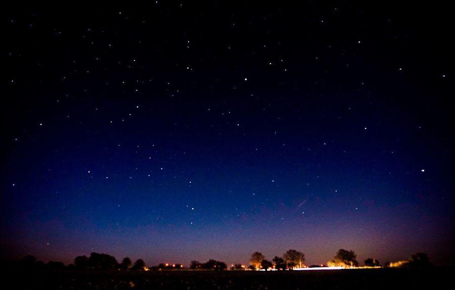 Night Nightphotography Germany Deutschland EyeEm Nature Lover Landscape Brandenburg Nature Nature_collection Nature Photography Stars Star Starry Sky Starry Night Under The Milky Way The Countryside At Night