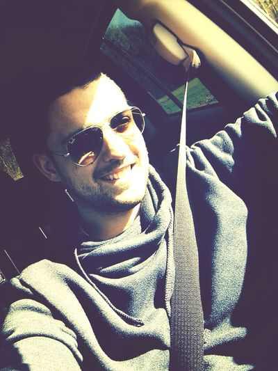 Selfie Car Sunshine