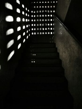 Staircase Steps And Staircases Steps Architecture Built Structure Indoors  No People Day City Sunset Silhouette Low Angle View Awe Light Light Source Refraction Sunlight Wide Shot Mobilephotography