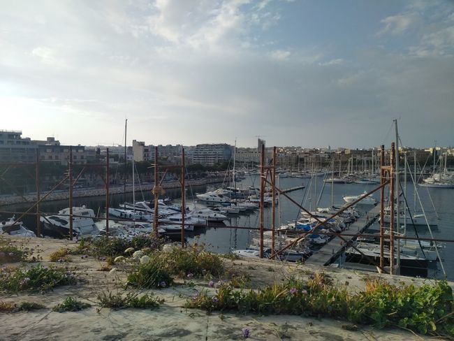 Florian Harbor Malta Marina Mediterranean  Cloud - Sky Outdoors Sky Transportation Water