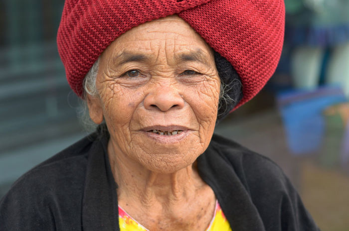 Balinese Balinese Woman Close-up Confidence  Day Focus On Foreground Friendly Friendly Smile Front View Headshot Leisure Activity Lifestyles Mature Adult Older Woman Portrait