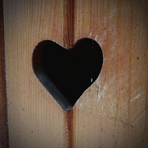 EyeEm Selects Heart Shape Wood - Material Love Woodheart LittleHeart Heartinthedoor Wood Door