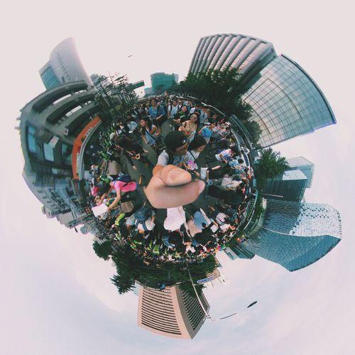 360 Panorama Tiny Planet Queer Festival Queer Parade Seoul Queer Festival Parade Lg360cam