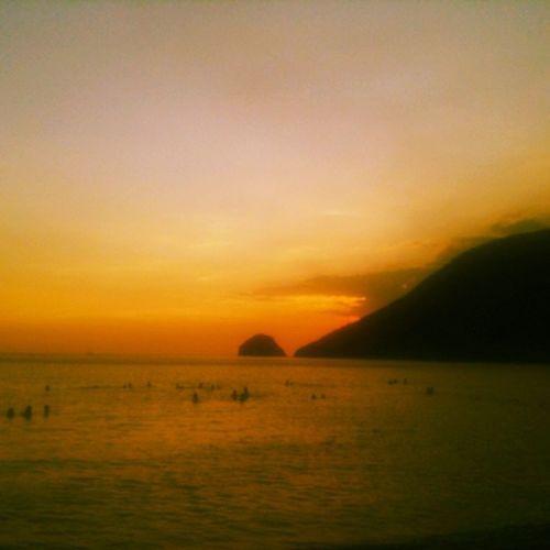 Sunset ba kamo.. ?⛺? Summer2014 Anawangin