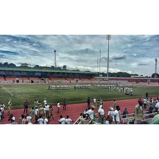 Nnamdi Azikwe Stadium, Enugu. Streetphotography PhonePhotography Photographyislife Enugu 042 Nysc Passingout