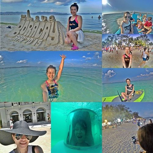 Day 79 > It was a great and awesome experience! Thank you LaCarmelaDeBoracay 😊💪👍 See you later cdg peepz. 100happydaysofgelai 100happydays Achieve Laboracay2015 Eatpraylove