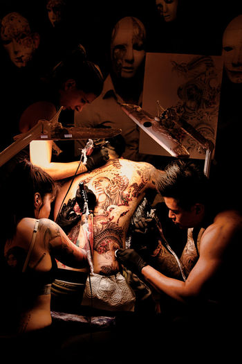 «Pain & Gain» Human Body Part People Arts Culture And Entertainment Tattoo Tattoos And Piercings Tattooart