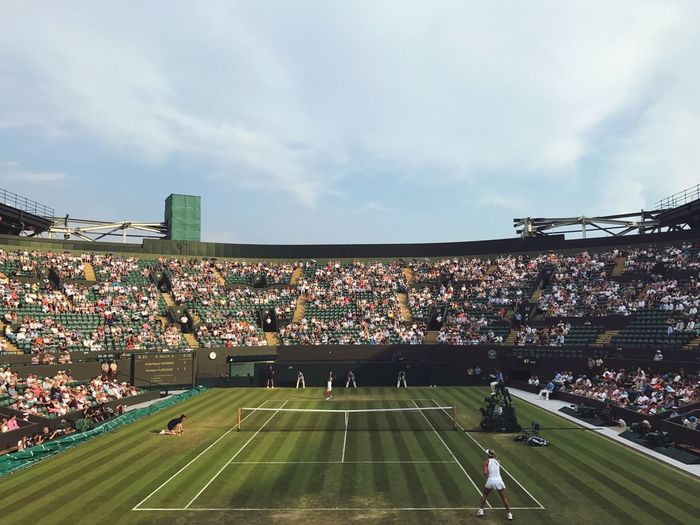 Wimbledon Stadium Wimbledon Championships EyeEm Best Shots Eye4photography  Tenniscourt Tennis 🎾