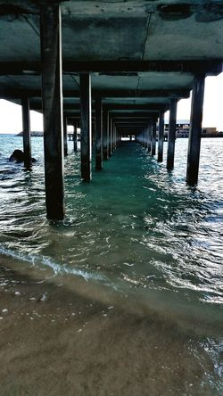 Below Pier Good Vibes✌ Cellularphotography