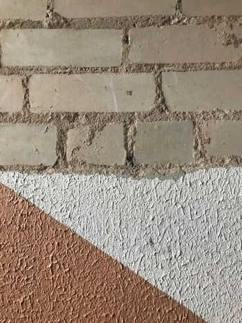 Peach Colour Day Architecture Brick Wall Outdoors Textured  No People Full Frame Built Structure Backgrounds Close-up Building Exterior No Effects Made With IPhone 7
