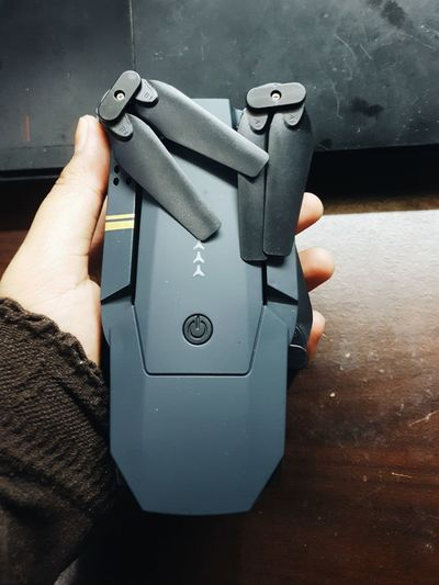 EyeEm Selects Human Hand Human Body Part Human Finger One Person Hand Metal Indoors  Holding Close-up People One Man Only Real People Only Men Adults Only Day Adult Drone  Foldable Drone Baby Mavic Drone  Drone Pilot