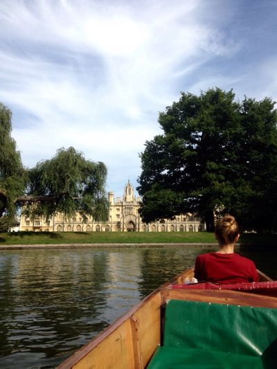 Cambridge River View Punting Daniela Church EyeEm Best Shots EyeEm New Here Aesthetics EyeEmNewHere