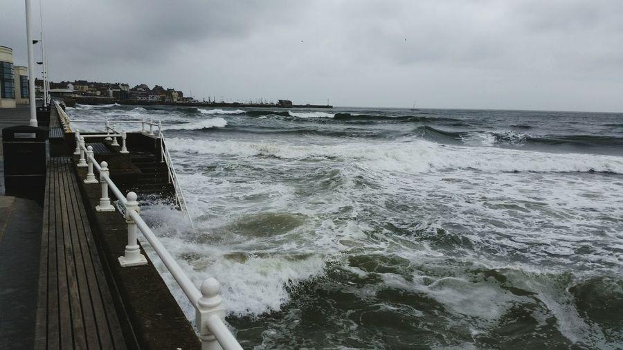 Cold Thesea Sea Seaside Seascape Waves Waves, Ocean, Nature Waves Rolling In Dark Winter Greatbritan Seaside Exploring Seaside Town Seaside Living Fisher Fisherman Trawler Fresh On Eyeem  TheWeekOnEyeEM