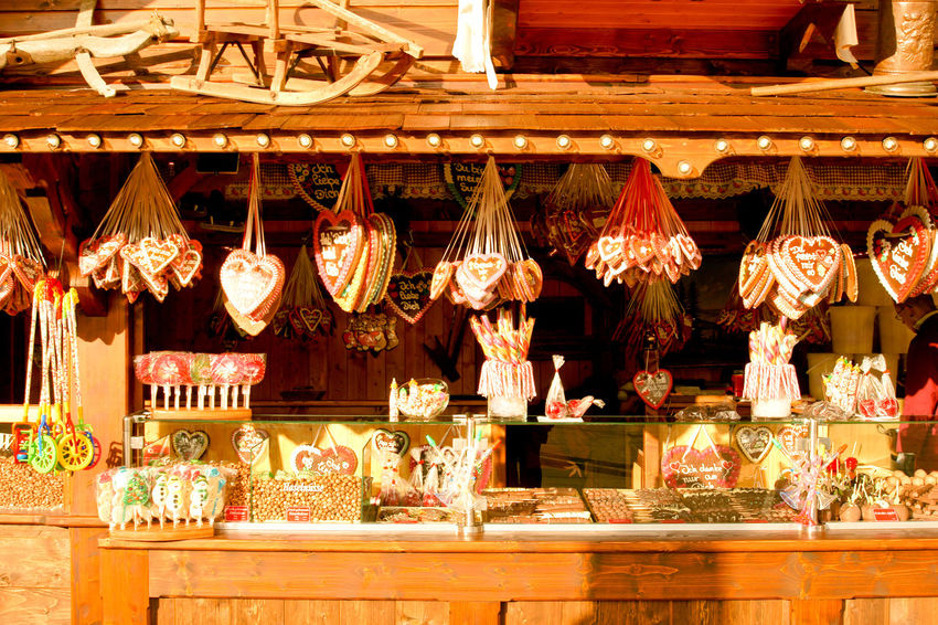 Hanging No People Retail  Choice Business Indoors  In A Row Variation Decoration Food And Drink Lighting Equipment Large Group Of Objects Illuminated Architecture Order Store Arrangement Abundance Wood - Material Bar Counter Christmas Market