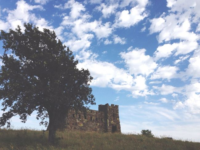 Tiny castle with tree. Photography Nice Views Kansas My Feet Hurt Nature Enjoying The Sights Taking Pictures