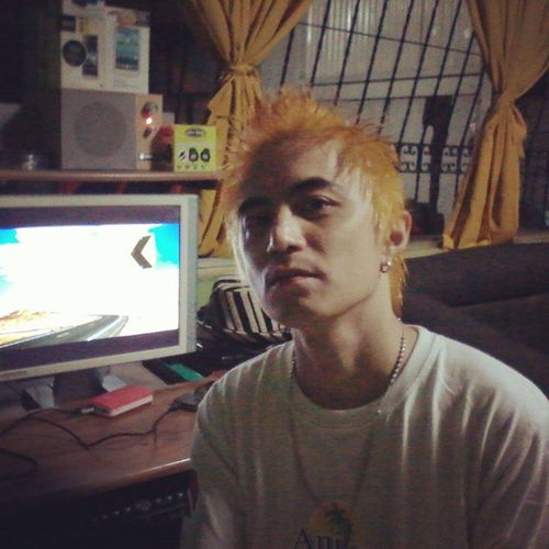 New HAIRSTYLE! Kpop Koreanhairstyle Yellowgold Haircolor