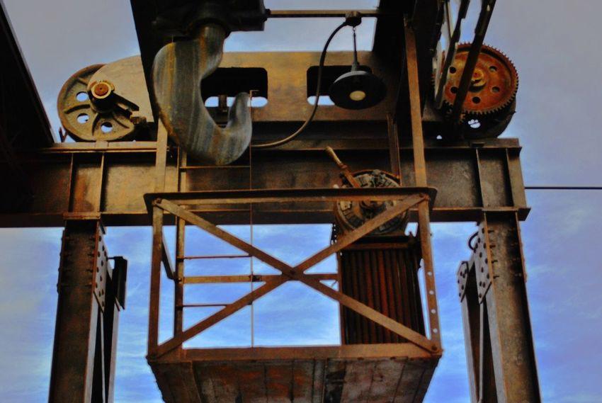 Hook Industry Iron - Metal Ironwork  Machinery Mining Mining Heritage No People Outdoors Pulledpork Sky Steel