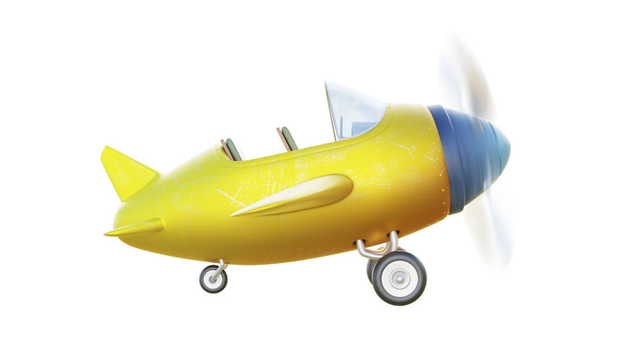 Close-up of yellow toy over white background