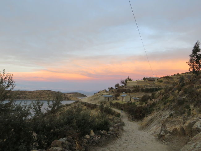 Isla Del Sol, Titicaca lake, Peru Beauty In Nature Cloud - Sky Cloudy Dramatic Sky Growth Idyllic Isla Del Sol Landscape Moody Sky Mountain Nature Non Urban Scene Non-urban Scene Orange Color Outdoors Peru Remote Scenics Sky Sunset The Way Forward Titicaca Tranquil Scene Tranquility Twilight Sky