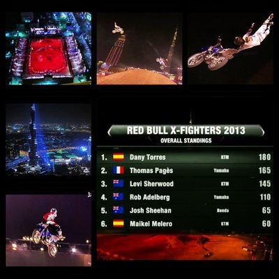 What does an Extreme sports nut like myself do when she has insomnia in the wee hours of the morning?... Why Watch the redbull X-Fighters Live of course! ? Picframe RedBullXFighters Xfighters Dubai middleeast roundtwo 2013 fmx extremesport moto motorsports redbull redbulltv redbulltvapp results outdoors sport dirt bikes dirtbikes insomnia is a bitch! xprotwo screenshots iphone nighttime Im pinned! Must SLEEP! Goodnight I.G'ers! ???✌