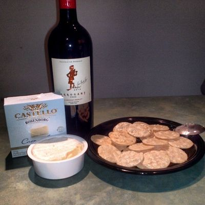 I THANK YA Dayoff ooh furk ya Brie Wine Thebestcombo lovesnackfood snacking