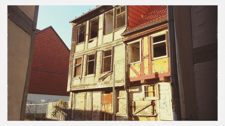 Lerone-itinerary Old Structures Braced Open House