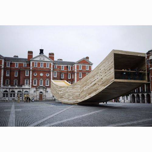 London Lifestyle Architecture Design Built Structure Levitation