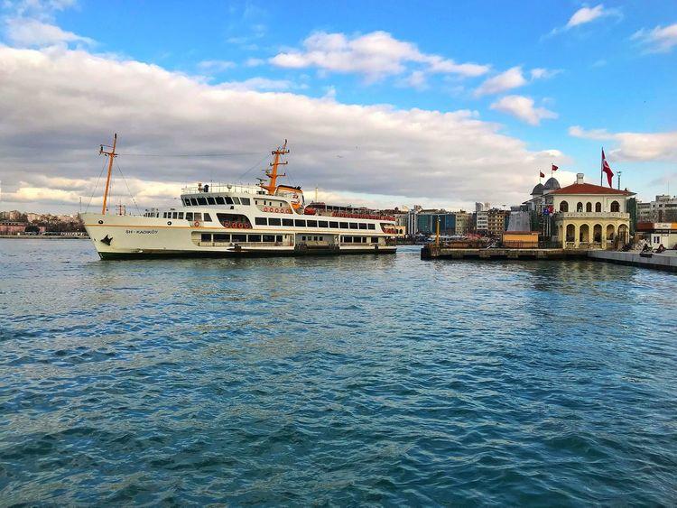 Kadıköy Sahil Nautical Vessel Water Waterfront Sea Outdoors Nature