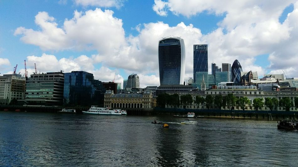 The City of London from the South of the River Thames