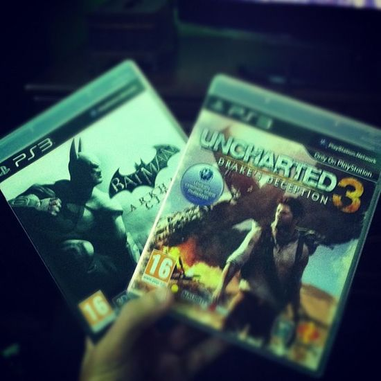 Playstation Ps3 Uncharted3 Uncharted batman darkknight goty games game videogame