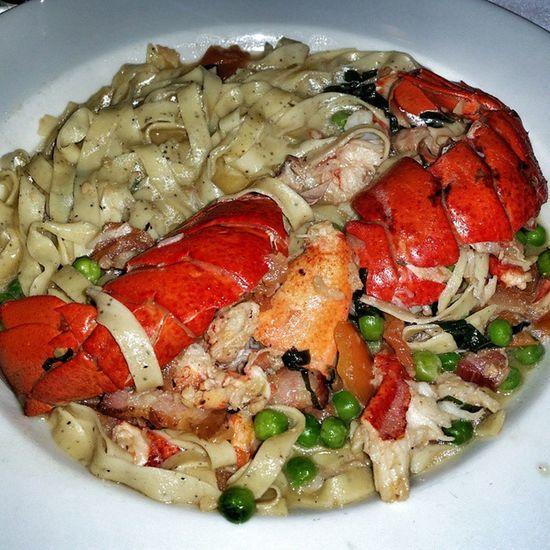 Love Seafood & Pasta Lobster Fettuccine italian