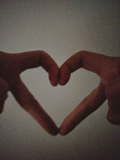 Shape Of Heart Hand Love ♥ Amazing Fantastic Heart Shape Love Human Body Part Romance Indoors  Real People