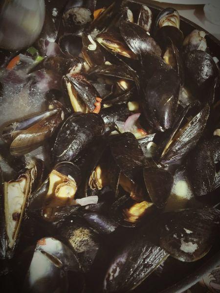 Mossellen Eten Food Mussels Food Porn Lekker