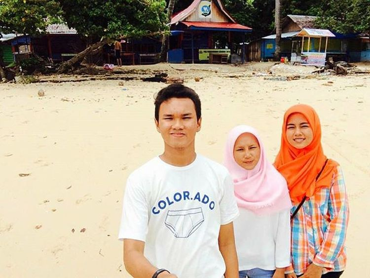 mabitj😚👀 Cingkuak Island Travelling Sunrise West Sumatra  Painan Kaos Sikekkutu Color Ado
