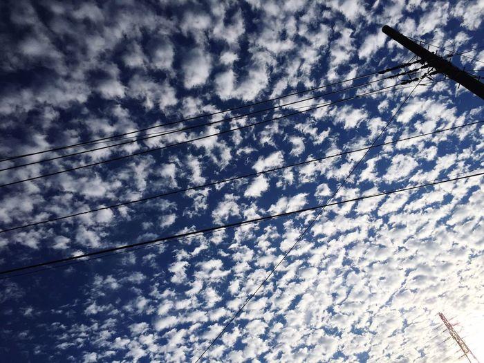 いわし雲 いわし雲 雲 Clouds And Sky