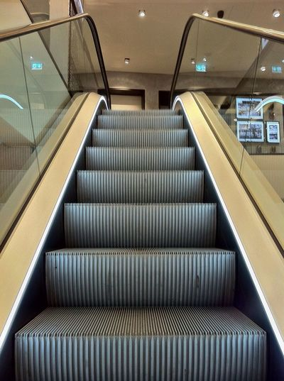 Escalator Symmetry Steps Stairs Light And Shadow Symmetryporn IPhoneography EyeEm Best Shots Jopesfotos - Urban